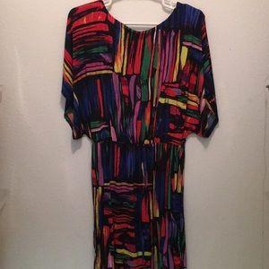 Dresses & Skirts - Spandex multi colored mini dress